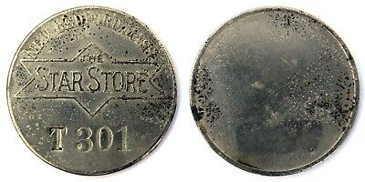 STAR  STORE,  THE  NEW  Attribution number CHARGE COIN  TYL MA-550-STAA