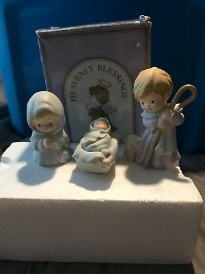 "Avon Nativity collection Heavenly blessings ""The Holy Family"" Vintage 1986"