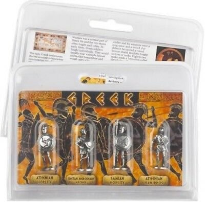 Greek Warriors Hoplite Archer Athens Role Playing Pack of 4 Miniature Figures