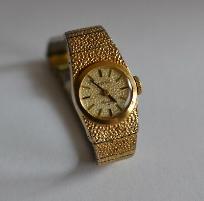 Women's Seiko 17 Jewels Gold Filled Rainbow Manual Watch SN:580318 - Tested Exc