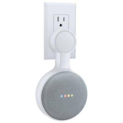 AMORTEK Outlet Wall Mount Holder for Google Home Mini, A Space-Saving