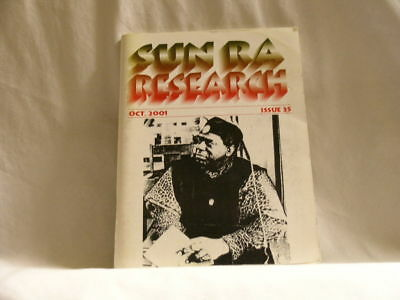 SUN RA Research magazine #35 October 2001 interviews June Tyson Francisco Mora