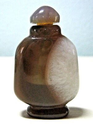 Brazil Agate Chinese Snuff Bottle