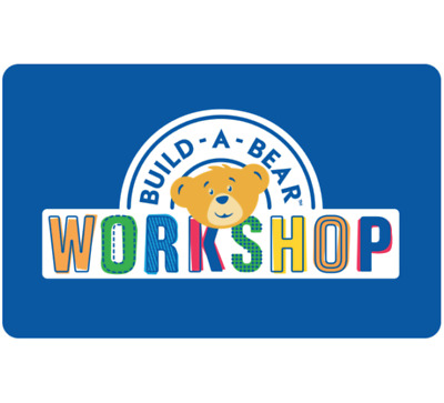 Build-A-Bear Workshop Gift Card - $25 or $50 - Email delivery