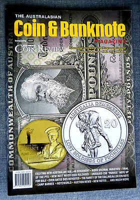The Australasian Coin and Banknote Magazine,  Volume 13  Month April  Year 2010