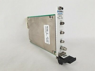 National Instruments NI PXIE-5601 RF Downconverter 10 MHz-6.6 GHz For PXIe-1075