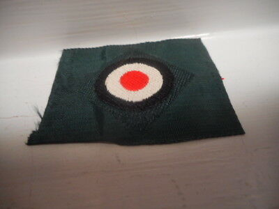 The auction is for an Original German WWII Army Cap Rosette - Unused Cloth