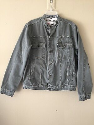 Rare Steve McQueen Limited Ed Denim Jacket Troy Lee Designs US XL