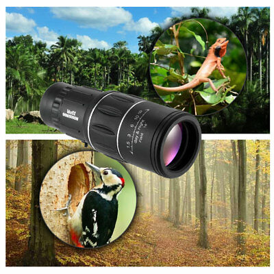 16x52 Monocular Telescope Dual Focus Zoom 16X Compact Monoculars For Adults New