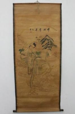 Old Collection Scroll Chinese Painting /Chang'e Painting