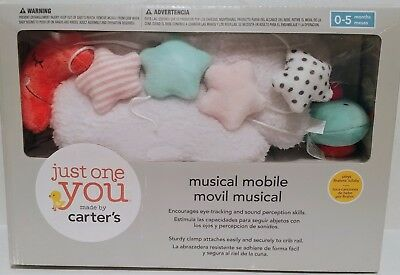 Just One You By Carter's Night Skies Musical Crib Mobile Cloud Stars Moon Bird