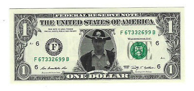 "$1 Bank Note United States Of America Sticker Rick Grimes ""walking Dead "" Grimes"