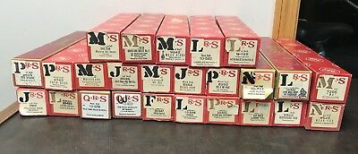 Vintage Lot Of 25 QRS Word Roll Player Piano Rolls (#6)