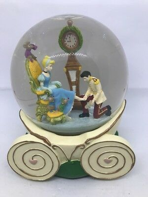 Disney Cinderella Musical  Snow Globe Plays So This Is Love Carriage
