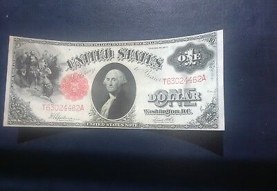 *** Series Of 1917 Uncirculated Legal Tender One Dollar Nice Note Large Size