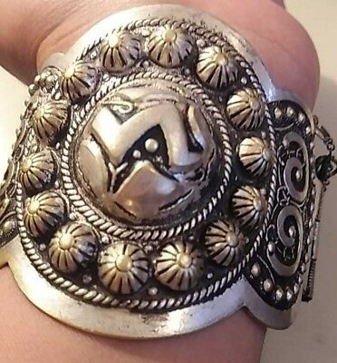 EXTREMELY Ancient VIKING SILVER BRACELET museum quality artifact UNIQUE Stunning