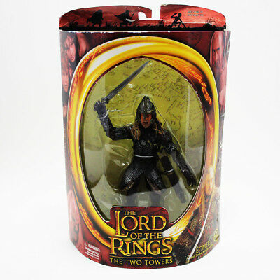 Toybiz Lord of the Rings Two Towers Eomer with Sword Attack Figure NEW IN BOX