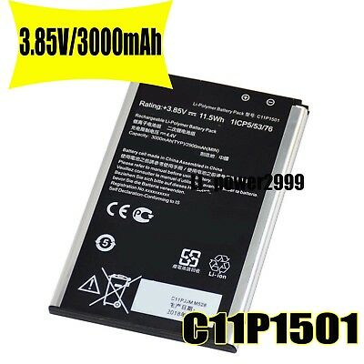 3.85V C11P1501 Battery For Asus ZenFone 2 Laser 6.0 ZE601KL ZE551KL 1ICP5//53//76