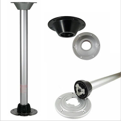 "29"" Aluminum Removable Table Leg Pedestal Stand used for Recreational Vehicles"