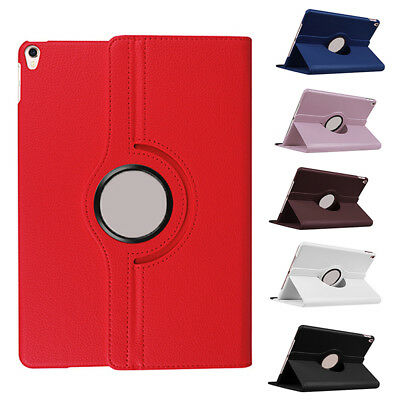 360 Rotating Smart Stand PU Leather Case Cover For Apple iPad Air & Air 2