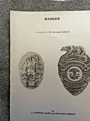 Badges-a guide for serious collectors
