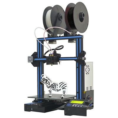 Factory Direct Geeetech 3D PrInter A10M Dual Extruder Mix Color Easy Assembly