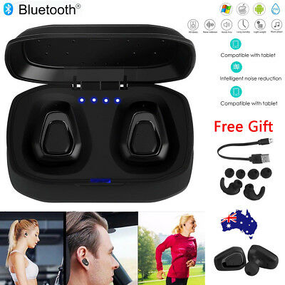 A7 TWS Twins Bluetooth Wireless Earbuds In-Ear Earphone Headphone Headset w/ Mic