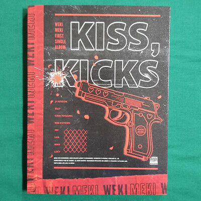 [Pre-Owned/ No Photocard] Weki Meki 1st Single Album Kicks Ver - Kiss, Kicks