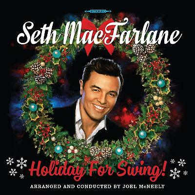 Holiday for Swing! by Seth MacFarlane (CD, 2014, Republic) *NEW* *FREE Shipping*