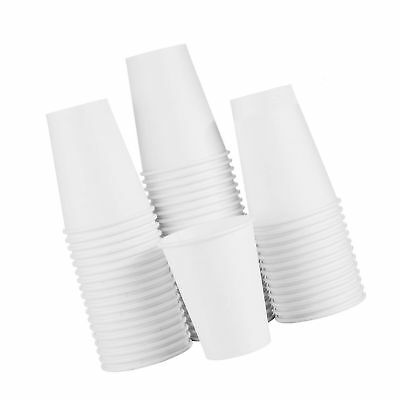 To Go Paper Coffee Cups 12oz 120 Pack White Hot Coffee Cups and Paper Cups