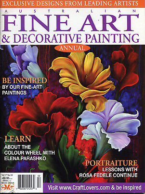 Art Magazine - Fine Art &   Decorative Painting Magazine Vol 17 No 10