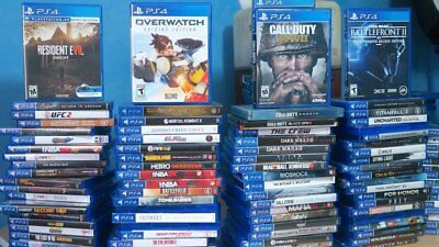 BEST PRE-OWNED PLAYSTATION 4 / PS4 Games choose from $6 99 Free Shipping