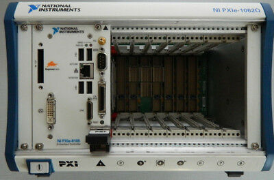 National Instruments NI PXIe-1062Q Chassis PXI-8105 embedded controller