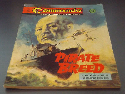 Commando War Comic Number 234!,1966 Issue,excellent For Age,52 Years Old,v Rare.