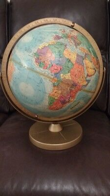"Vintage Replogle World Nations Series 12"" Globe Double Axis Globe"