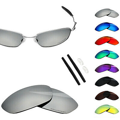 e6a8149580 BlazerBuck Polarized Etching Replacement Lenses for-Oakley Whisker - Options