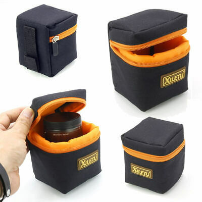 Waterproof DSLR Camera Lens Bag Padded Pouch Protector Carry Case Package