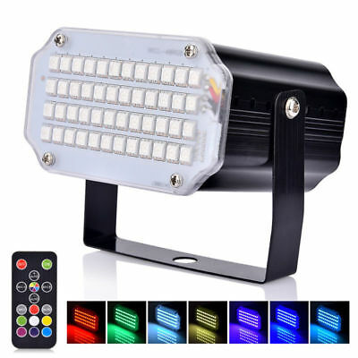 12W LED RF Remote Control Stage Light Lamp For Disco DJ Party Bar KTV Lighting