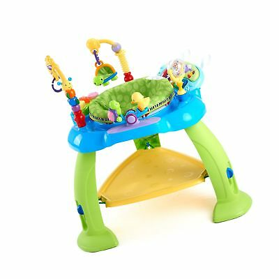 4e2cb3044 HUILE BABY ACTIVITY Learning Center Baby Stationary Jumper Bounce ...