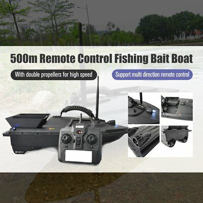RC Boat Ship Speedboat with Double Motors 500m Remote Control Fish Finder NS