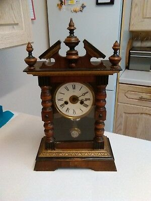 Early 20th Century Junghans Mantle/Wall Clock - For Restoration (1245)