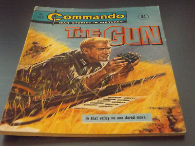 Commando War Comic Number 419!,1969 Issue,v Good For Age,49 Years Old,v Rare.