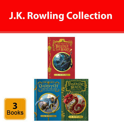 J.K. Rowling collection 3 Books set Young Adult pack Tales of Beedle the Bard