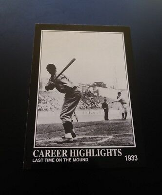 Babe Ruth Last Time Red Sox #90 Babe Ruth Collection 1992 MLB Baseball Card