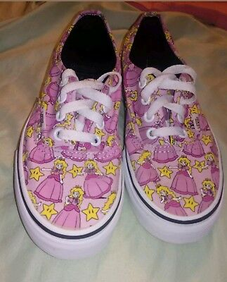 VANS Size AUTHENTIC (NINTENDO) Princess Peach Size VANS US 5 Donna (3.5 Uomo   fe1535