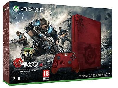 Microsoft Xbox One S 2TB Gears of War Limited Edition Console - With Controller