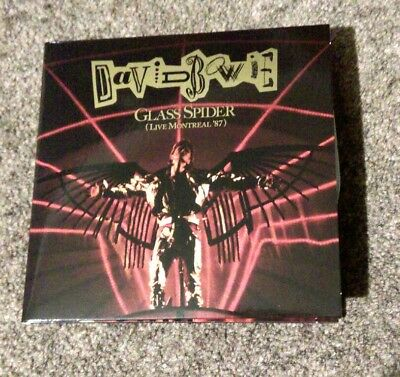 David Bowie Glass Spider (Live Montreal '87) 2 CD PREORDER from Loving the Alien