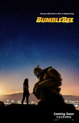 ORIGINAL BUMBLEBEE 27x40 DS POSTER double 2 sided Hailee Steinfeld transformers