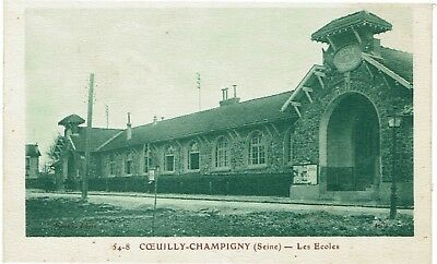 CPA - France - (94) Val de Marne - Coeuilly-Champigny - les ecoles