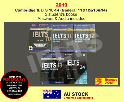 Cambridge IELTS 10-14(General11&12&13&14) Student's Book with Answers with Audio